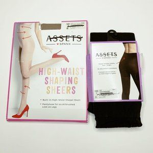 Assets High-Waist Shaping Sheers Opaque Tights